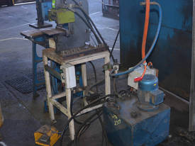 1.1kW 3 phase HYDRAULIC fabricated LETTER PRESS  - picture1' - Click to enlarge