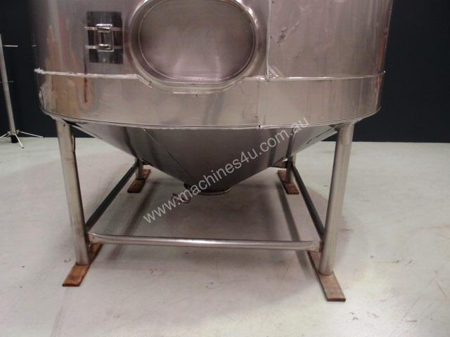 Stainless Steel Jacketed Mixing Capacity 6,500Lt.