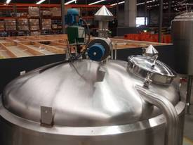 Stainless Steel Jacketed Mixing Capacity 6,500Lt. - picture1' - Click to enlarge