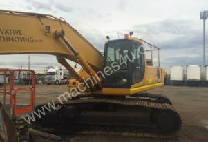 Pc300-6 long reach 20m excavator