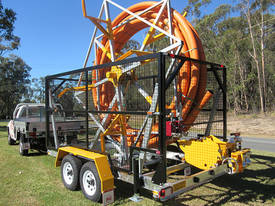 Conduit Trailer and Straightener Cable Trailer - picture0' - Click to enlarge