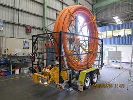Conduit Trailer and Straightener Cable Trailer - picture1' - Click to enlarge