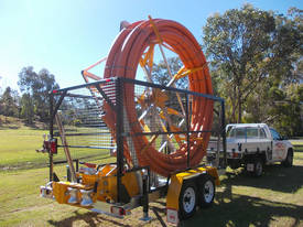 Conduit Trailer and Straightener Cable Trailer - picture4' - Click to enlarge