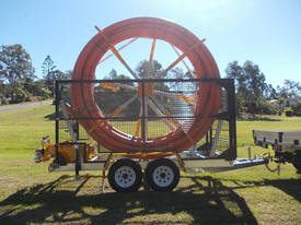 Conduit Trailer and Straightener Cable Trailer - picture6' - Click to enlarge