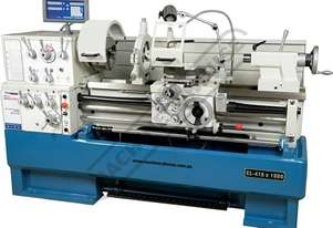 CL-410 Centre Lathe 410 x 1000mm Turning Capacity - 58mm Spindle Bore Includes Digital Readout, Quic