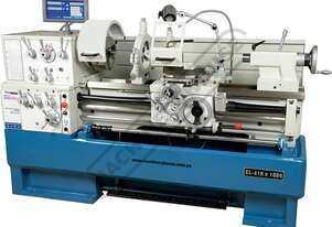 CL-410 Centre Lathe Ø410 x 1000mm Turning Capacity - Ø58mm Spindle Bore Includes Digital Readout,
