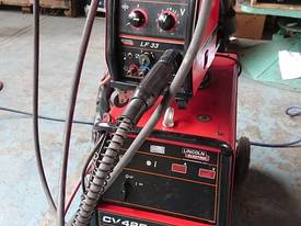 MIG Welder Lincoln CV 425 with LF 33 Separate Wire