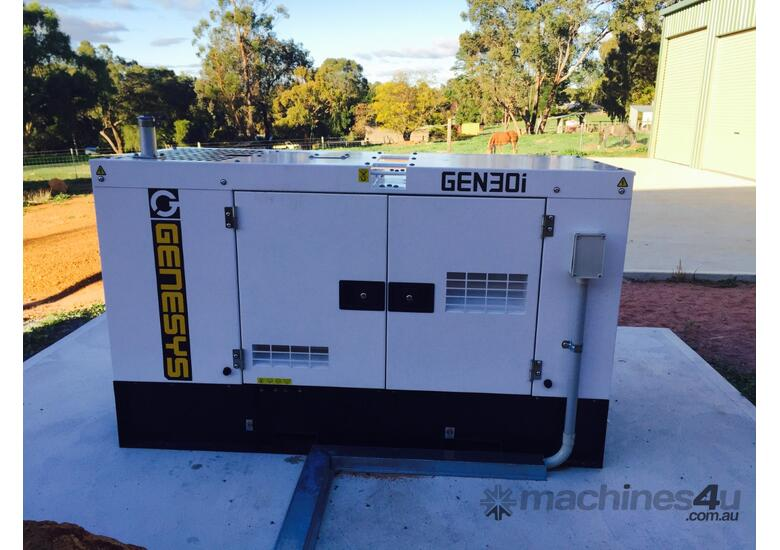 Generator 33KVA Isuzu Diesel 415V - ISUZU ENGINE - 2 Years Warranty