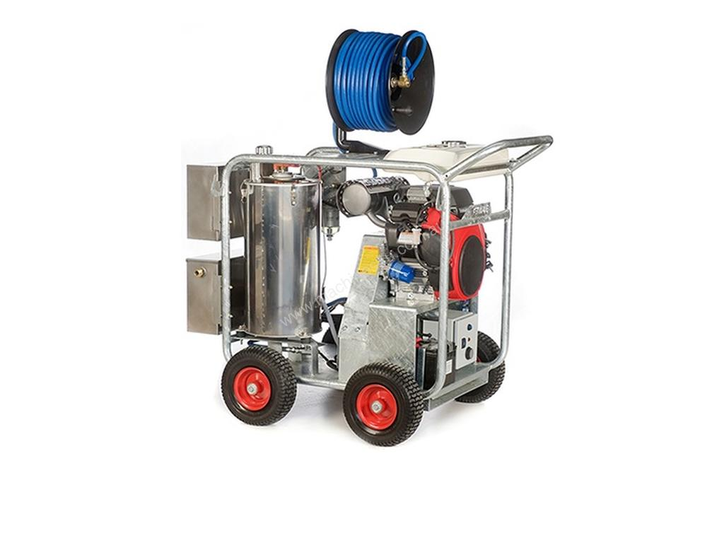 New Jetwave Executive V Twin Petrol Pressure Washer In