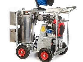 Jetwave Executive V-Twin Range Hot Water Petrol Pressure Cleaner - picture0' - Click to enlarge