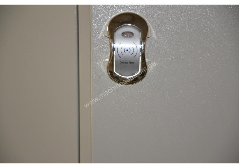 Six Bank Electric Swipe Card Locker