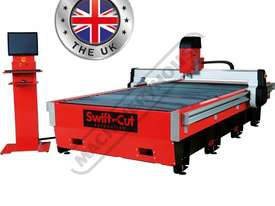 Swiftcut 3000DD MK4 CNC Plasma Cutting Table Downddraft System, Hypertherm Powermax 125 Cuts up to 2 - picture0' - Click to enlarge