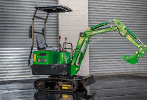 McLoughlin J1T 1T Micro Excavator Mini digger 2 Year Warranty