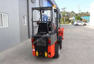 NEW Everun ER06 1470kg  Articulated Loader with Standard Bucket, 4 in 1 Bucket and a set of forks