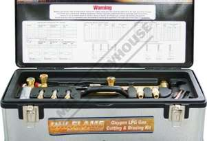 KKOXY2 Uni-Flame Oxy LPG Gas Cutting & Brazing Kit
