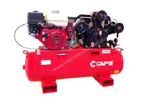 CAPS 15cfm Reciprocating Piston Petrol Air Compressor