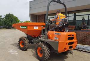 NEW 2017 AUSA D350AHG 3.5T SWIVEL SKIP 4WD SITE DUMPER