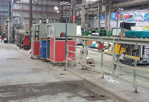 PROFILE EXTRUDER COMPLETE PRODUCTION LINE