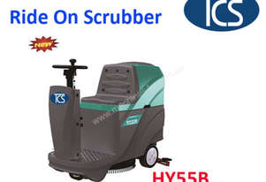 TCS NEW Ride-on Auto Scrubber Cleaner Floor Scrubber & Drier Certified