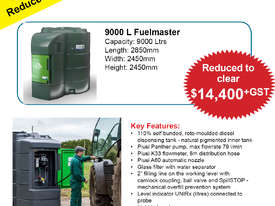 9000 Litre FuelMaster  Fuel Storage & Dispensing Tank - picture0' - Click to enlarge