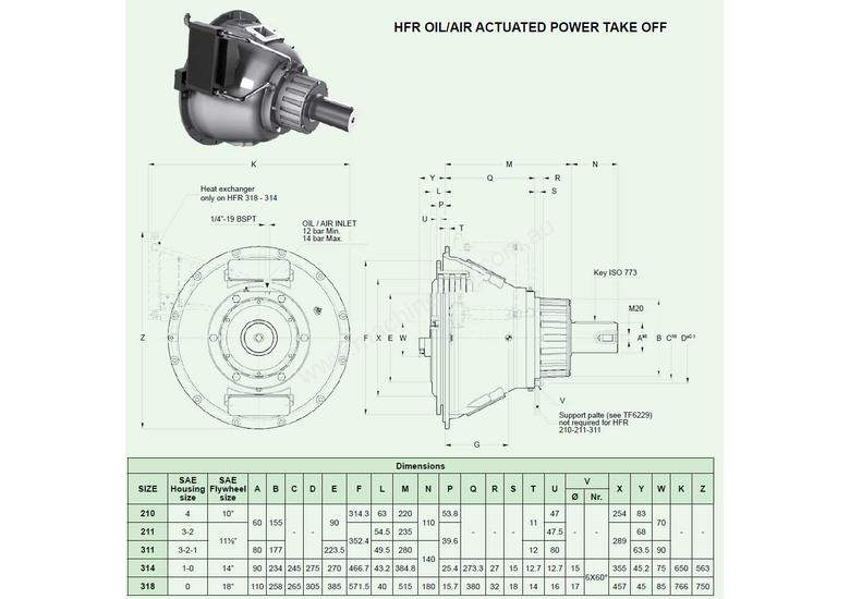 Transfluid parts for sales