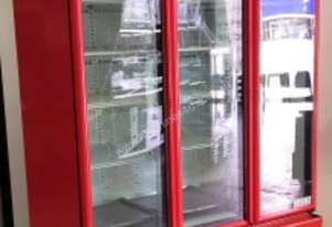 USED ORFORD 3 DOOR UPRIGHT FRIDGE MODEL: BM 45E-C