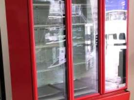 USED ORFORD 3 DOOR UPRIGHT FRIDGE MODEL: BM 45E-C - picture0' - Click to enlarge