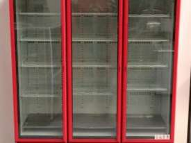 USED ORFORD 3 DOOR UPRIGHT FRIDGE MODEL: BM 45E-C - picture1' - Click to enlarge