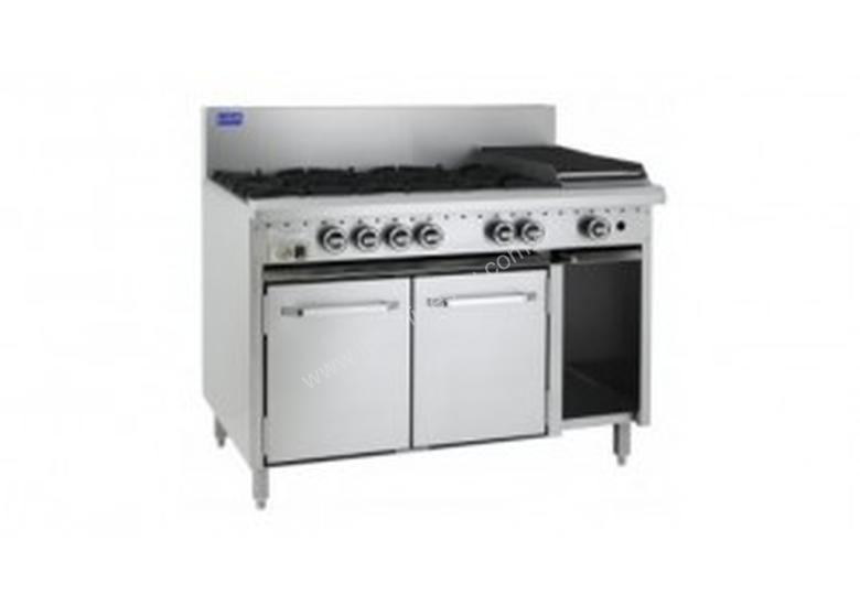 Luus Essentials Series 1200 Wide Oven Ranges 6 burners, 300 bbq & oven