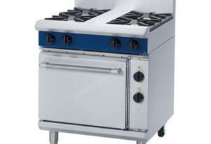Blue Seal GE505D/C Gas range electric static oven 750mm