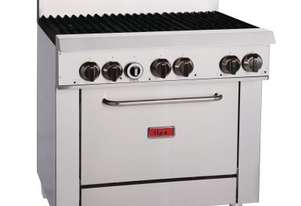 Thor Gas Range 36``with flame failure- NG