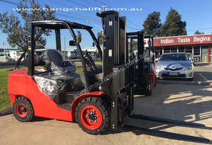 New XF Series Duel Fuel 3.5 Ton Internal Combustion HangCha Forklift