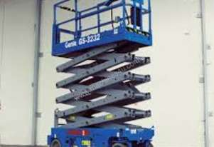 NEW GENIE 32FT ELECTRIC SCISSOR LIFT
