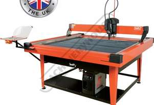 SWIFTY 1250 XP Compact CNC Plasma Cutting Table Water Tray System, Hypertherm Powermax 65 Cuts up to