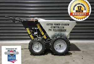 POWER BARROW 4X4 ELETRIC START Free shipping australia on machines 4u only