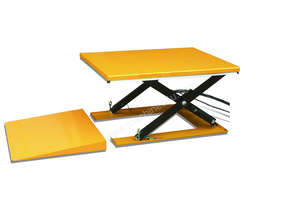 Low Profile Electric Scissor Table Lifter (including Ramp)