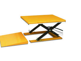 Low Profile Electric Scissor Table Lifter (including Ramp) - picture0' - Click to enlarge