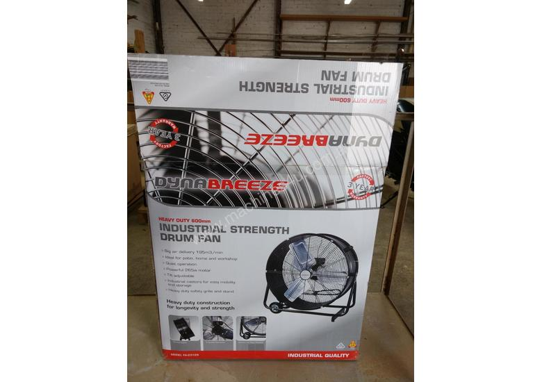 Dynabreeze 600mm, 265watt, 195cfpm industrial/workshop fan