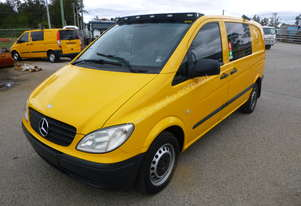2010 Mercedes Benz Vito Van Fitted Out With Toolbox & Compressor - In Auction