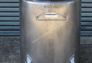 Fallsdell Machinery Stainless Steel Mobile Tank