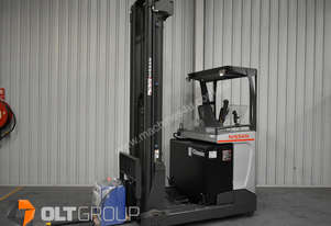 Nissan High Lift Reach Truck 7.95m Warehouse Ride On Reach Truck Sydney