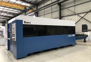 1kW Yawei HLE-1530 Fiber Laser - Bring your laser work in-house. Improve lead times and reduce costs