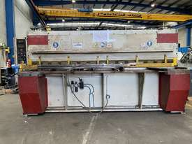 Just Traded - IMAL 3050mm x 6.5mm Variable Rake Hydraulic Guillotine with Rear Sheet Supports  - picture1' - Click to enlarge