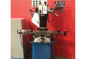 HM-48 Mill Drill - Geared & Tilting Head with Digital Readout System  (X) 540mm (Y) 185mm (Z) 410mm,