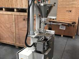 Second-hand 4 side seal sachet filler with powder auger filler for sale! - picture0' - Click to enlarge