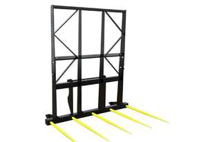 CHALLENGE IMPLEMENTS LARGE SQUARE BALE SPIKE FOR TELEHANDLER 5 x 1250mm C2 TINES