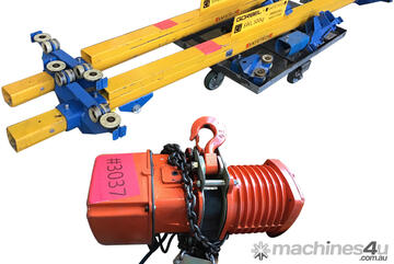 Black Bear 500kg Electric Chain Hoist with Pendant and Monorail YSL-050 TON