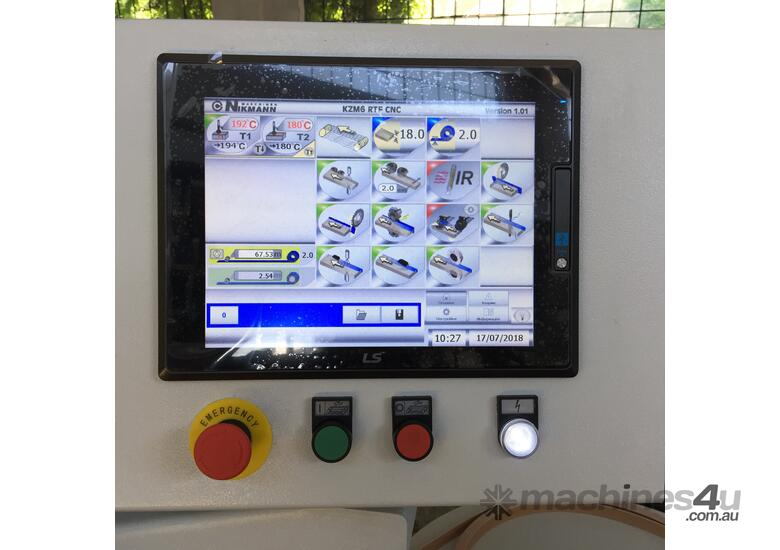 Edgebander NikMann RTF-CNC-v.1 Fully Automated with Pre-mill, Corner Ronder and much more