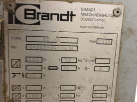 Brandt Edge Bander - picture3' - Click to enlarge