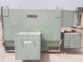 2100 KW 2800 HP 4 pole 1490 rpm 11000 volt Foot Mount 560 Frame POPE Slip Ring Electric Motor - picture2' - Click to enlarge